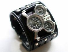 Pulsera de reloj de pulsera para hombre relojes por dganin en Etsy