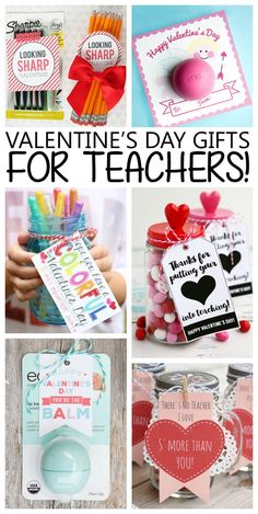 We always like to get a little something for our teachers. They do so much, they deserve a little Valentine. We've gathered some super sweet ideas today. Hope you find one that you'd like to use for t