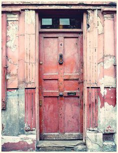 pink door - London  by MademoisellePoirot, via Flickr