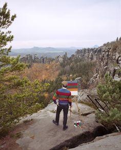 Fabian Schubert - self portrait landscape