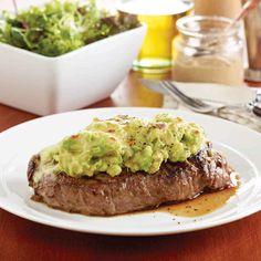 Avocado and Mozzarella Mustard Steaks  #Recipe  #AustralianAvocados