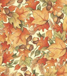 Autumn colors subdued.