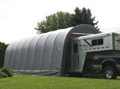 ShelterLogic 14-Ft.W Round-Style Instant Garage - 24ft.L x 14ft.W x 12ft.H, 2 3/8in. Frame, Model# 95360 by ShelterLogic. $1901.59. All steel 2 3/8in. frame with Dupont thermoset baked on powder-coat finish will not chip, peel, rust or corrode. New, improved 6 rib/4-ft. spacing delivers ultimate strength, ease of installation, portability and value. Easy Slide Cross Rail system locks down and squares up frame. ShelterLock stabilizers ensure stability and durability. Bolt to...
