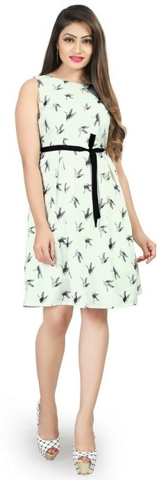 Buy Women's Pretty Look Regular Fit Crepe Material Block Print Knee-Length Western Dress Online at Low prices in India on Winsant, India fastest online shopping website. Shop Online for Women's Pretty Look Regular Fit Crepe Material Block Print Knee-Length Western Dress only at Winsant.com. COD facility available. #westernfashion #westernwear #westerndresses #dresses #dressesonline #fashion #style #love #outfits #ootd #onlineshopping #shopnow #pinterest #pinterestmarketing #trending #trends Western Dresses Online, Western Dresses For Women, Online Shopping Websites, How To Look Pretty, Women Lingerie, Party Wear, Modern, Clothes For Women, Dress Online