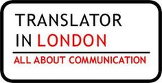 The logo I designed for my business as a (Spanish) Translator in London.