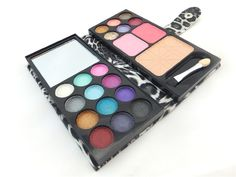 Envío Gratis 12 Colores de Sombra de Ojos Sombra de Ojos Paleta Profesional Kit Maquillaje Maquillaje Set Maquillaje Cosmético Se Ruboriza Paleta de Polvo