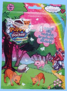 "Puppy In My Pocket ""Enchanted Valley"" Single Figure Pack (U.K. and Worldwide)"