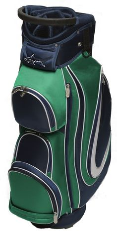 Slam Glam - Greg Norman's Greenbrier Ladies Golf Bag, $220.00 (http://www.slamglam.com/greg-normans-greenbrier-ladies-golf-bag/) Beautiful golf bag! Accessories available to match. #gregnormangolf #gloveitgolfbags #golfbags #ladiesgolfbags