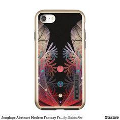 Jonglage Abstract Modern Fantasy Fractal Art Incipio DualPro Shine iPhone 8/7 Case