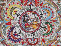 Madhubani painting or Mithila Painting is a style of Indian painting, practiced in the Mithila region of Bihar state, India.