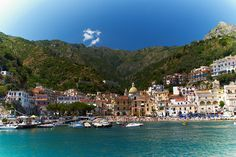Cetara, Italy Amalfi Coast. Cetara is a town and commune in the Province of Salerno in the Campania region of south-western Italy.  Cetara is located in the territory of the Amalfi Coast.