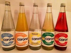 Corona pop.  Lemonade was my favourite!                                                                                                                                                                                 More