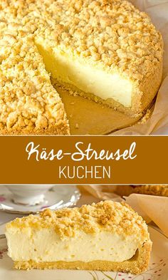 Tarta de queso con chispas Kuchen u. andere Leckereien Kuchen cheesecake with chips u. Easy Cheesecake Recipes, Easy Cake Recipes, Sweet Recipes, Baking Recipes, Cookie Recipes, Dessert Recipes, Cakes Originales, Health Desserts, Health Foods