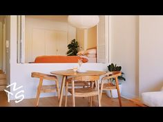 (8) NEVER TOO SMALL ep 43 46sqm/495sqft Small Minimalist Apartment - Chippendale Home - YouTube Minimalist Apartment, Minimalist Home, Small Space Living, Small Spaces, Warehouse Apartment, Interior Architecture, Interior Design, Take Me Home, House In The Woods