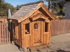 Hand-Crafted Storybook Playhouse on Etsy, $6,500.00