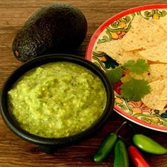 """Spicy Avocado Sauce 