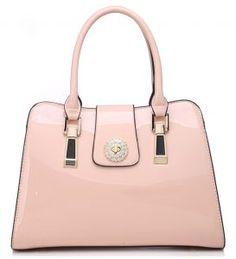 Diamonte Emblem Patent Bag £24.99
