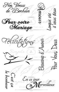 Étampes Polymères Souhait en Français Boutique Scrapbooking, French Phrases, Decoupage, Sticker Paper, Stickers, Powerful Words, Vintage Images, Scrapbooks, Silhouette Cameo
