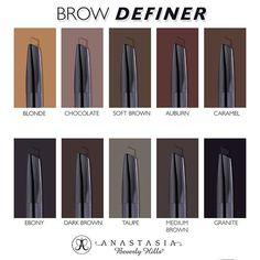 Anastasia Beverly Hills @anastasiabeverlyhills Brow Definer is h...Instagram photo | Websta (Webstagram)
