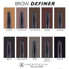 Anastasia Beverly Hills @anastasiabeverlyhills Brow Definer is h...Instagram photo | Websta (Webstagram)