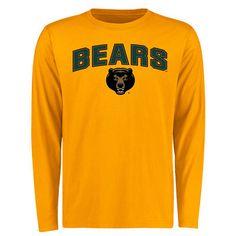 Baylor Bears Proud Mascot Long Sleeve T-Shirt - Gold
