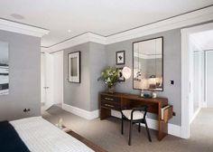 Paredes grises para dar calidez a las casas Paperblog Paredes grises Colores de interiores Salones grises