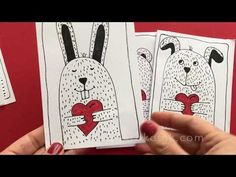 valentine valentines drawing draw krokotak crafts projects directed