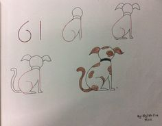 Exciting Learn To Draw Animals Ideas. Exquisite Learn To Draw Animals Ideas. Easy Drawings For Kids, Love Drawings, Doodle Drawings, Drawing For Kids, Animal Drawings, Doodle Art, Art For Kids, Simple Drawings, Drawing Lessons