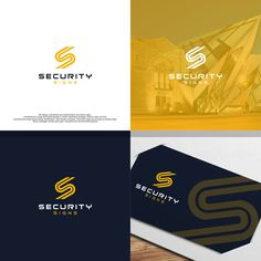 Security Signs - Rebrand our Lazy 'S' Logo & Name to reflect our progressive company culture