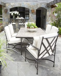 shop outdoor furniture ethan allen party on the patio rh pinterest com ethan allen patio furniture cushions ethan allen lawn furniture