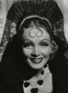 "Marlene Dietrich - ""The Devil is a Woman"" (1935) - Costume designer : Travis Banton"