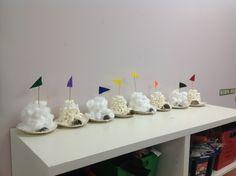 Theme: snow and ice Craft: igloo
