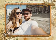 """""""Globetrotter"""" or another one of our 8000+ designs as a real postcard worldwide! We offer the right card for every occasion – like """"Vacation Greetings"""""""