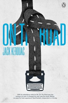 on the road, jack kerouac // designed by jez burrows for Penguin