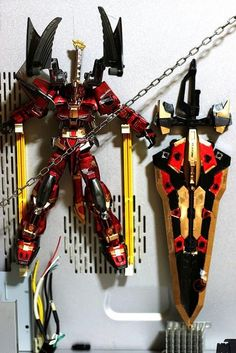 "Custom Build: 1/100 Gundam Astray Blue Frame Second L ""Red Devil"" - Gundam Kits Collection News and Reviews Astray Red Frame, Gundam Astray, Custom Decals, Devil, Color Schemes, Kit, News, Building, Model"