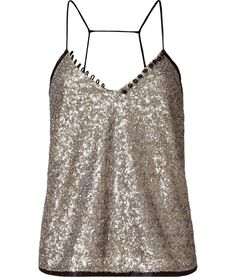 Gold Sequin Charly Top