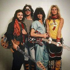 Van Halen  Before Hitting The Stage For Their 3rd & Final Night   Oakland Arena Oakland CA June 13 1981