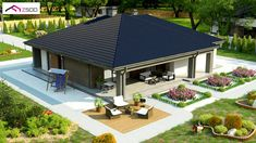 House Plans South Africa, Modern Bungalow House, Door Design Interior, Wood Architecture, Fantasy House, Cottage Plan, Small House Design, New House Plans, Facade House