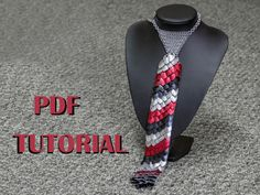 Chainmaille Scale Tie Tutorial by DreamHandmadee on Etsy