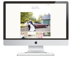 "Ashlee Proffitt: Brand: Lindsay Fauver Photography Website: ""Olivia"" by Seaside Creative"