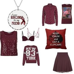 Burgundy for teens | Women's Outfit | ASOS Fashion Finder