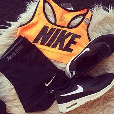 Nike Workout Gear | Fitness Apparel for Women | Workout Tops | Workout Shorts @ http://www.FitnessApparelExpress.com