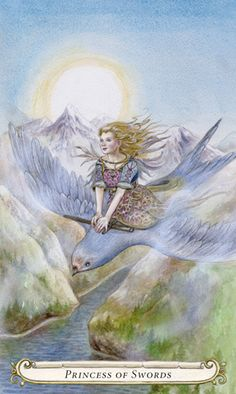 Princess of Swords - The Fairy Tale Tarot by Lisa Hunt