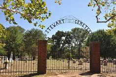Stewart TX - Stewart Cemetery