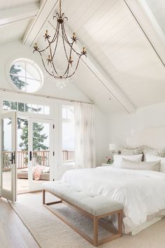 KristyWicks.com - Kristy's Friday Favorites ~ Gorgeous Kelly Deck Design Bedroom... so gorgeous for a lake home or anywhere!