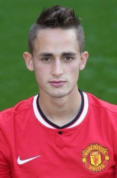 Adnan Januzaj of Manchester United poses during the annual club photocall at Old Trafford on September 16 2014 in Manchester England Manchester United Coach, Official Manchester United Website, Manchester England, Manchester United Football, Old Trafford, St George's Park, Sharon Jones, As Monaco, New Gossip