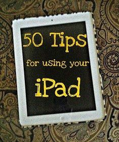 Now that I have the tips and tricks, just gotta got an iPad and then we are all set! Come on iPad I Need To Know, Things To Know, Ideas Prácticas, Craft Ideas, We Are The World, Do It Yourself Home, In Kindergarten, The Help, Just In Case
