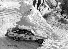 Robert Slotemaker - André Jetten Rally Monte-Carlo 1978. Opel Kadett GT/E. Clasificado 18º