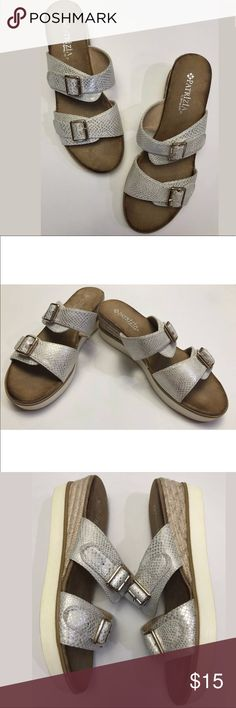 1853f5ee1ba6 Patrizia By Spring Step Tosia Snakeskin Sandals