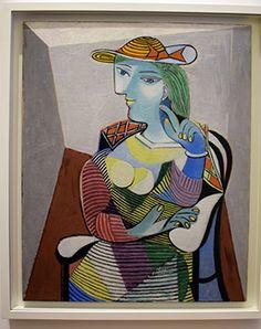 Portrait de Marie-Thérèse - 6 janvier 1937 - Paris - huile sur toile Pablo Picasso, Picasso Portraits, Poster Prints, Art Prints, Paris, Figurative Art, Find Art, Les Oeuvres, Framed Artwork